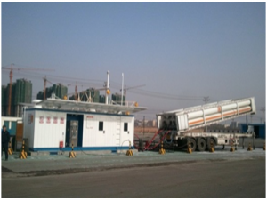 Hydraulic CNG filling Station